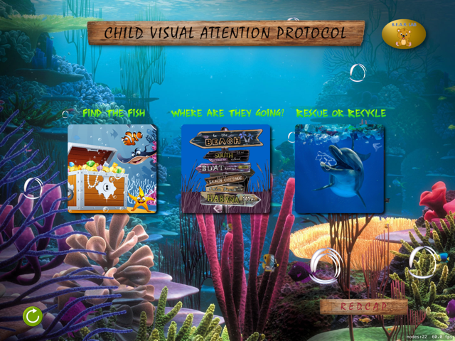Child Visual Attention Protocol app