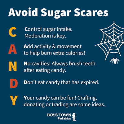 Be aware of sugar scares this Halloween