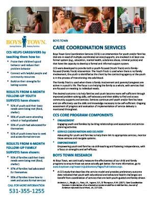 Care Coordination Services