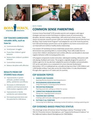 Common Sense Parenting