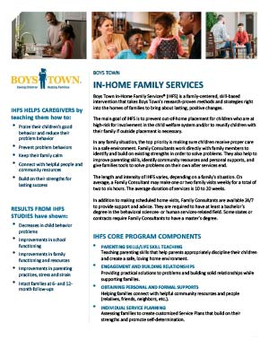 In-Home Family Services