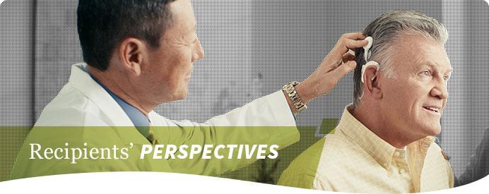 Recipients' Perspectives Header image